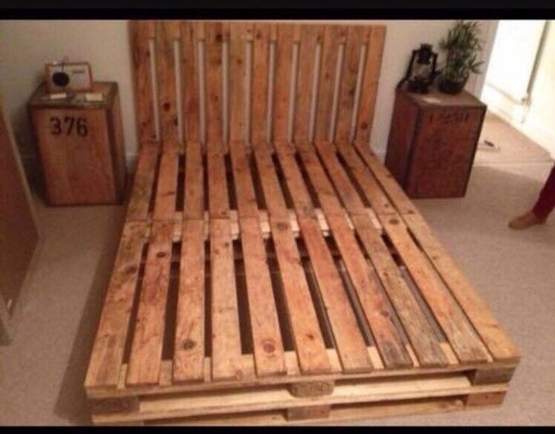 Pallet Bed Bespoke Sizes Available